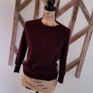 J. Crew merino wool sweater medium